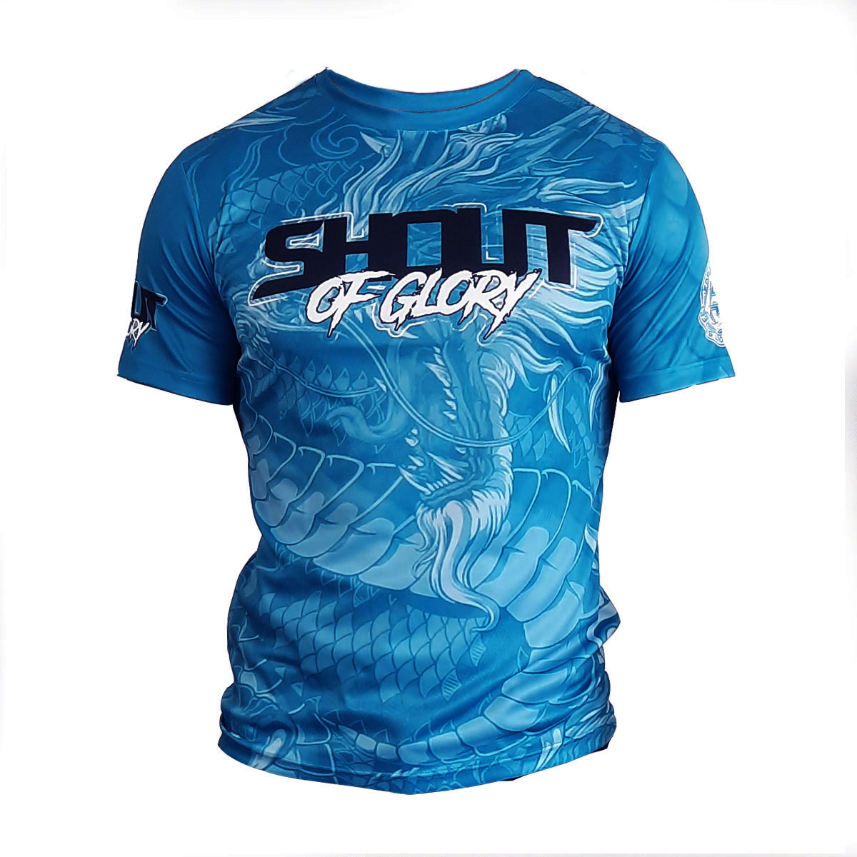SHOUT T-SHIRT BLUE DRAGON